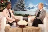Lupita Nyong'o and Ellen DeGeneres