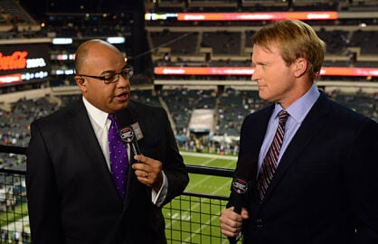 Mike Tirico Jon Gruden Monday Night Football