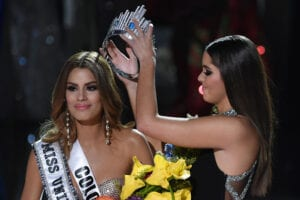 Miss Colombia at the 2015 Miss Universe Pageant