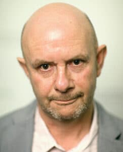 LONDON, ENGLAND - SEPTEMBER 23: Nick Hornby attends a photocall as he delivers the first in the 2015 BAFTA and BFI Screenwriters' Lecture series at BAFTA on September 23, 2015 in London, England. (Photo by Chris Jackson/Getty Images)