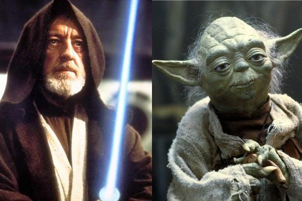 Obi Wan Yoda Force Awakens