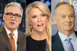 Keith Olbermann, Megyn Kelly, Bill O'Reilly