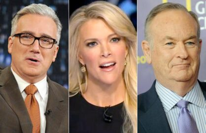 Keith Olbermann, Megyn Kelly, Bill O'Reilly