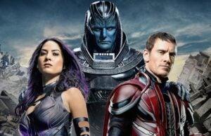 Olivia Munn Michael Fassbender X-Men Apocalypse
