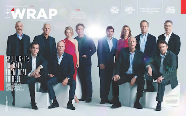Wrap magazine nominations issue cover: Spotlight