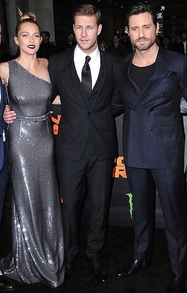 Teresa Palmer, Luke Bracey and Edgar Ramirez/ Getty Images