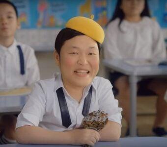 Psy Daddy Music video