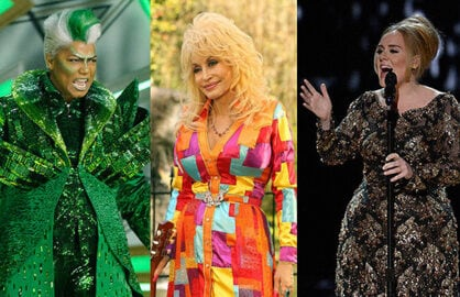 Queen Latifah Dolly Parton Adele Split