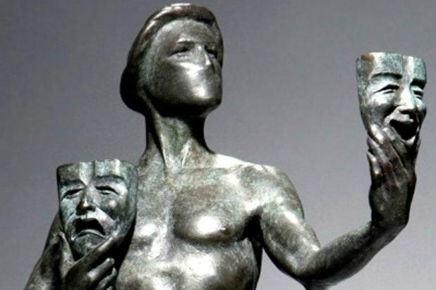 SAG Awards Trophy