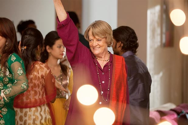 Maggie Smith in Second Best Exotic Marigold Hotel