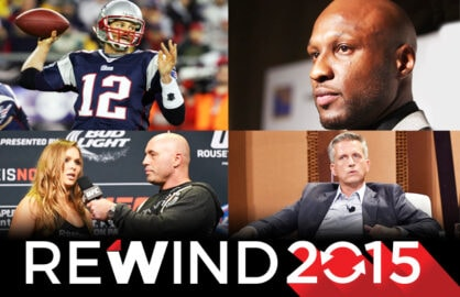 Sports Scandals 2015