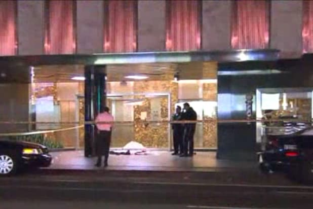 Four people were shot Sunday morning, 12/13/15 at the Standard hotel in downtown Los Angeles
