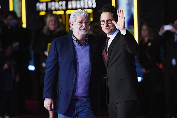 Star Wars George Lucas and J.J. Abrams
