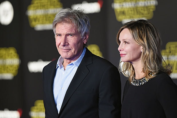 Harrison Ford and Calista Fllockhart