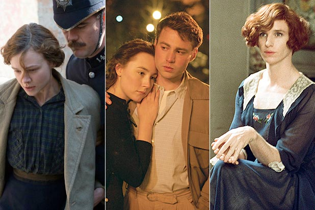Suffragette, Brooklyn, The Danish Girl