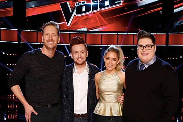 The Voice' Final Four Contestants Belt Out Christmas Songs