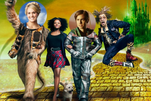 The Wiz Live Sound of Music Peter Pan