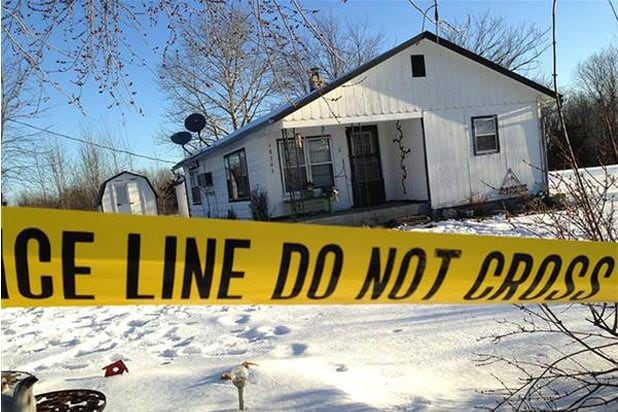 crime scene in Tyrone MO.