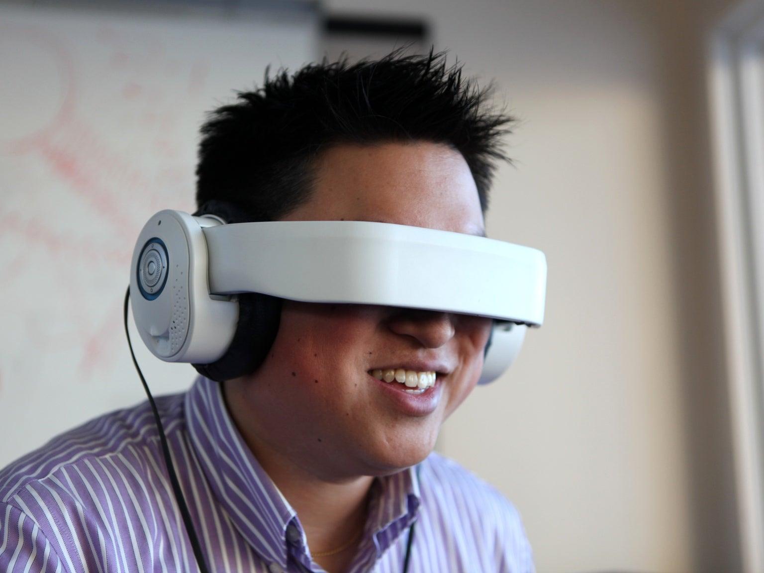 Avegant's Glyph headset
