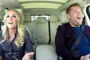 Carrie Underwood James Corden Carpool Karaoke
