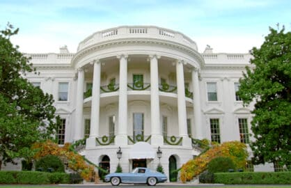 Comedians in Cars White House