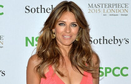 Elizabeth Hurley posts hot Christmas Card