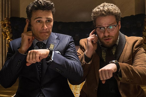 "James Franco, Seth Rogen in ""The Interview"""