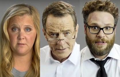 "Celebrities do dramatic readings of ""Hotline Bling"""