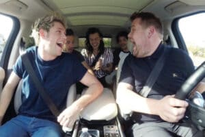One Direction James Corden Carpool Karaoke