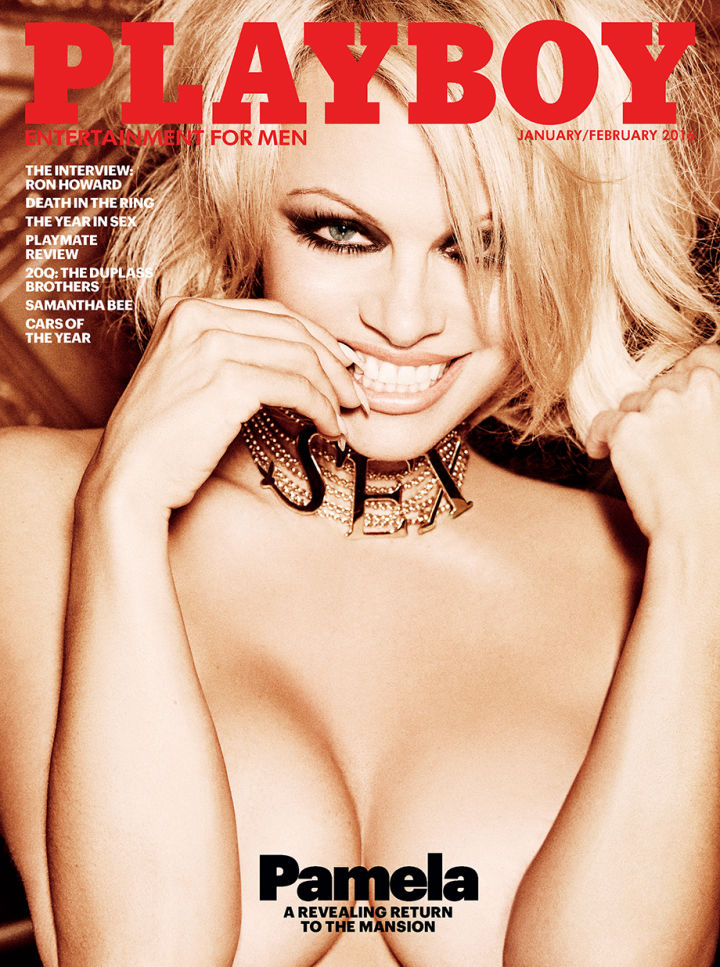 Pamela Anderson to Appear on Last Nude Playboy Cover (Photo)