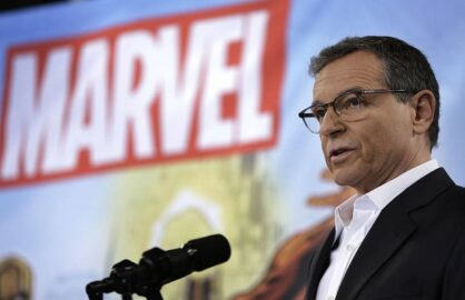 robert iger marvel disney