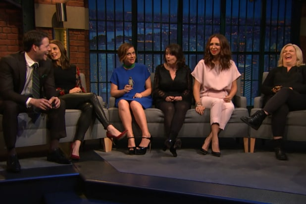 Sisters cast Late Night