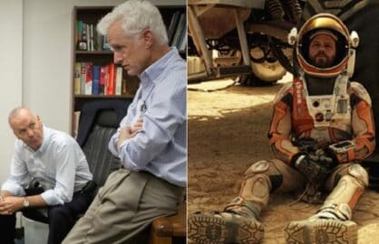 Spotlight and The Martian