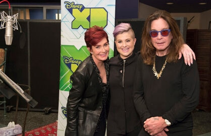 THE 7D - Recording session with Ozzy Osbourne, Sharon Osbourne and Kelly Osbourne. (Disney XD/Todd Wawrychuk) SHARON OSBOURNE, KELLY OSBOURNE, OZZY OSBOURNE
