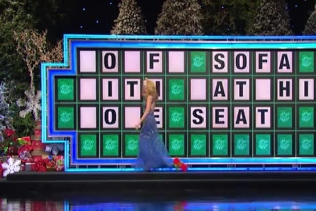 vanna white suffers wheel of fortune wardrobe malfunction