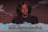 "Viola Davis reads ""Mean Tweets"""