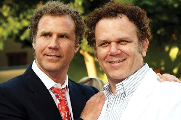 "Will Ferrell John C. Reilly in ""Stepbrothers"""