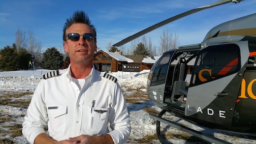 "Blade helicopters usually shuttle Manhattanites to NYC airports in 5 minutes or from the desk to Nantucket dinner reservations in 90 minutes. This week, they're ""bouncing"" festival goers right in to Park City. (Mikey Glazer)"
