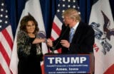 Donald Trump deflects questions about Palin VP