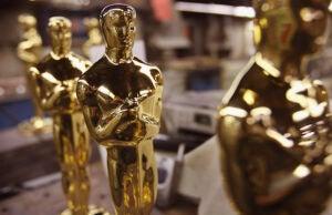 Oscars Statues #OscarsSoWhite
