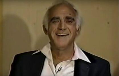 Abe Vigoda Dies Letterman