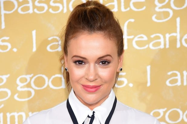 Alyssa Milano on Breastfeeding