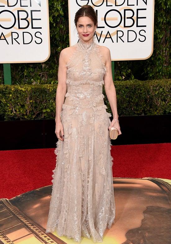 Amanda Peet 2016 Golden Globes