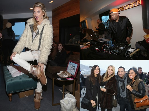 Annalynne McCord, Mel Debarge, Dream Hotels Nylon