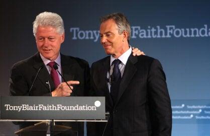 Bill Clinton Tony Blair