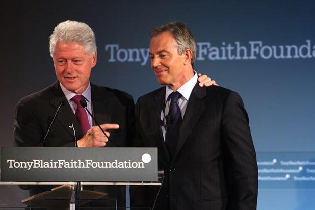 Bill Clinton Tony Blair