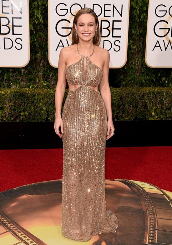 Brie Larson 2016 Golden Globes