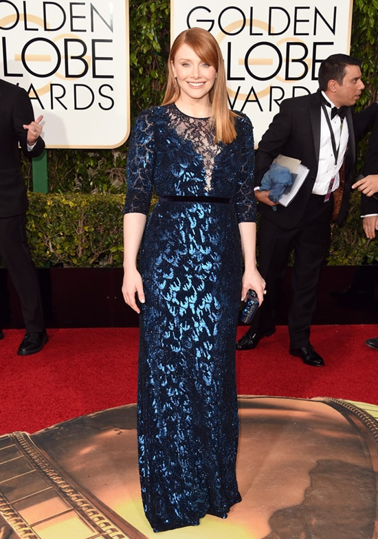 Bryce Dallas Howard 73rd Annual Golden Globe Awards Arrivals