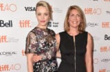 """Spotlight"": Rachel McAdams and the woman she portrays, Sacha Pfeiffer, during the 2015 Toronto International Film Festival on September 14, 2015. (Alberto E. Rodriguez/Getty Images)"