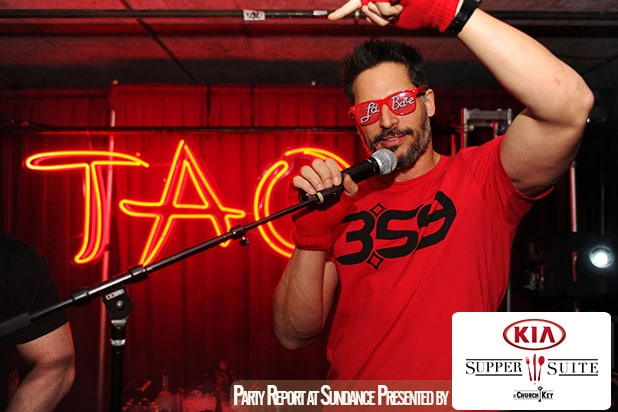 Joe Manganiello at a prior TAO at Sundance. (Seth Browarnik/StarTraks photo)